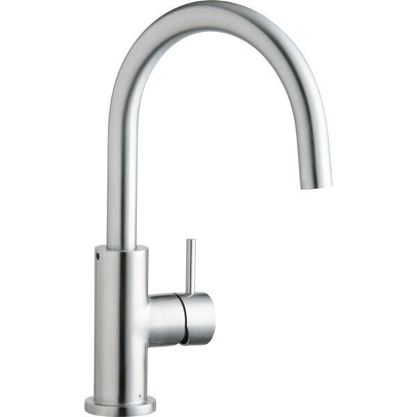 Allure Single Handle Kitchen Faucet with Lever and Side Spray by Elkay