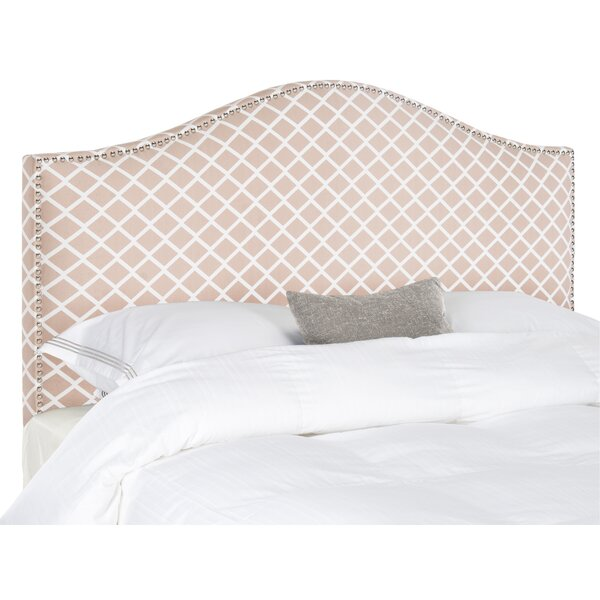 Lineberry Fully Upholstered Panel Headboard by House of Hampton