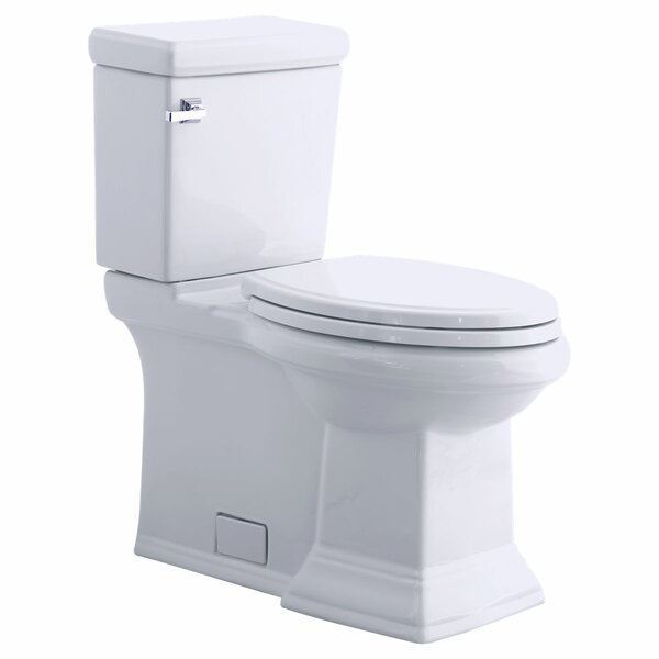 Champion Pro Right Height Rough-In 1.28 GPF Round Two-Piece Toilet by American Standard