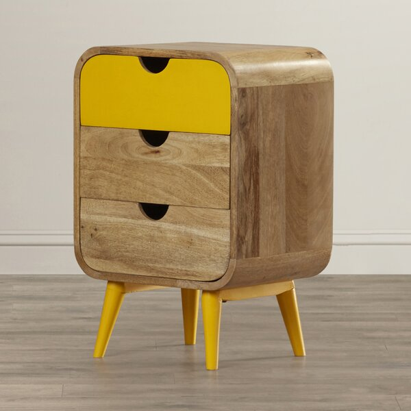 Terrific Friedlander 3 Drawer Nightstand By George Oliver 2019 Sale Caraccident5 Cool Chair Designs And Ideas Caraccident5Info