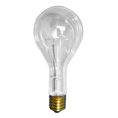 300W 130-Volt (2800K) Incandescent Light Bulb (Set of 9) by Bulbrite Industries