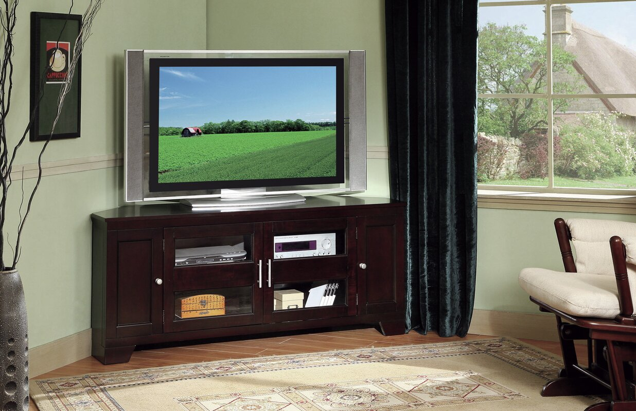 Darby home co cindy corner 60 tv stand reviews wayfair cindy corner 60 tv stand sciox Images