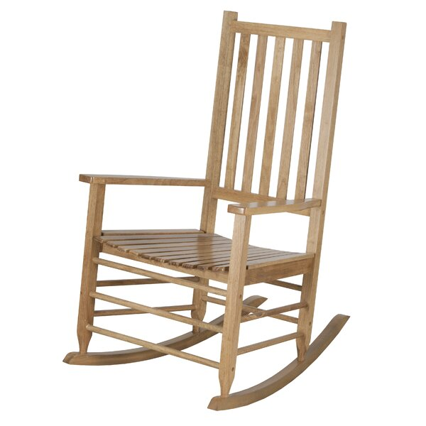 Shantaya Middle Sized Adult Rocking Chair by Highland Dunes