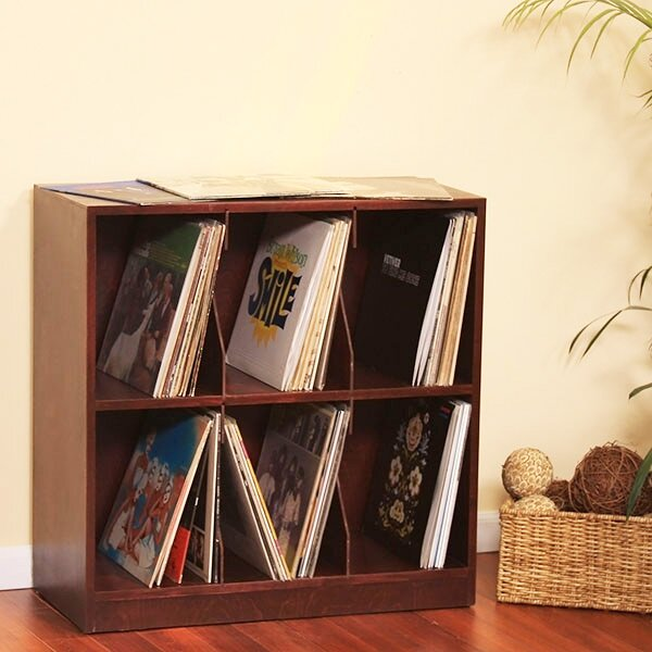 Multimedia Record Tabletop Storage by Latitude Run
