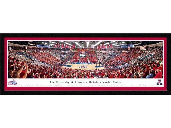 NCAA Arizona, University of - Basketball - 40Th Anniversary by James Blakeway Framed Photographic Print by Blakeway Worldwide Panoramas, Inc