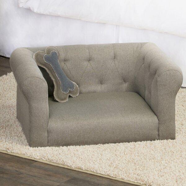 Carl Sophisticated Decorative Dog Sofa by Tucker Murphy Pet