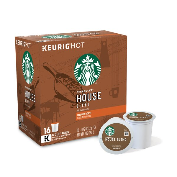 Starbucks House Blend Coffee K-cup (Pack of 96) by Keurig