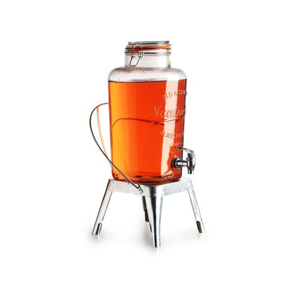 Timeless 2 Gal Hermetic Beverage Dispenser by Circle Glass