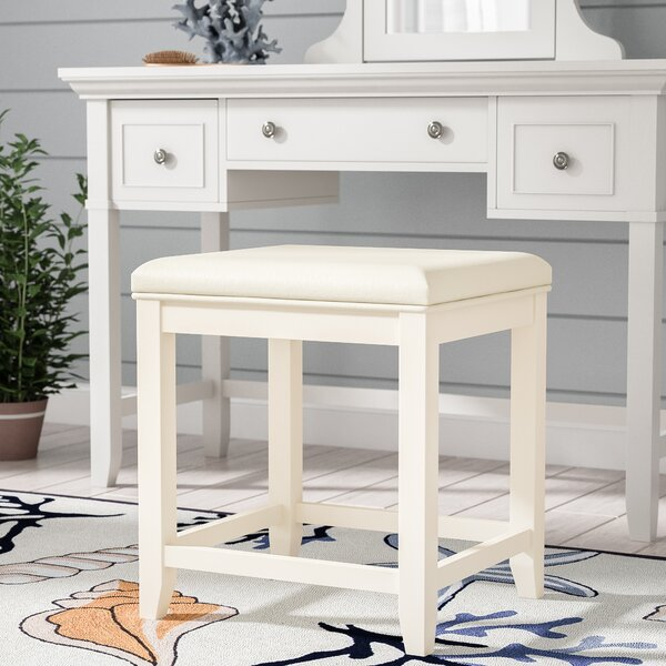 Manette Vanity Stool by Beachcrest Home