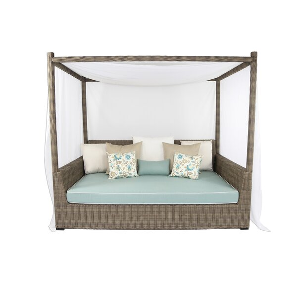 Palisades Viceroy Patio Day Bed with Sunbrella Cushions by Patio Heaven Patio Heaven