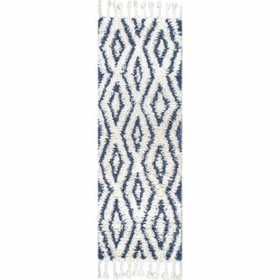Reid Hand-Woven Soukey Area Rug by Bungalow Rose