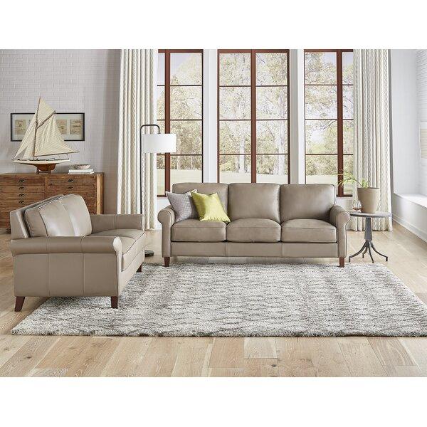 Josette 2 Piece Leather Living Room Set by Winston Porter Winston Porter