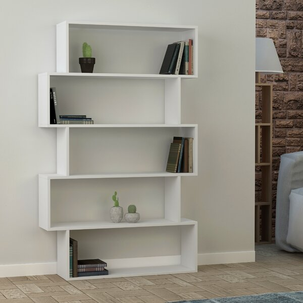 Musser Geometric Bookcase By Latitude Run