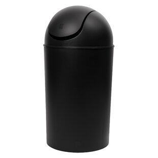 Grand Plastic 10 Gallon Swing Top Trash Can