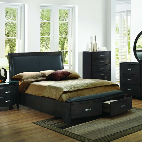 Laurelwood Upholstered Storage Sleigh Bed by Latitude Run