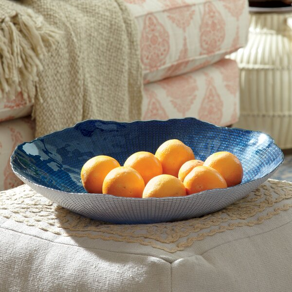 Giana Indigo Decorative Bowl by Birch Lane™