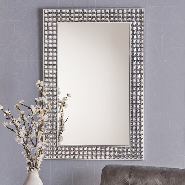 Newquist Rectangular Accent Mirror by House of Hampton
