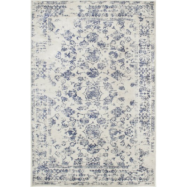 Aspremont Blue Area Rug by Lark Manor