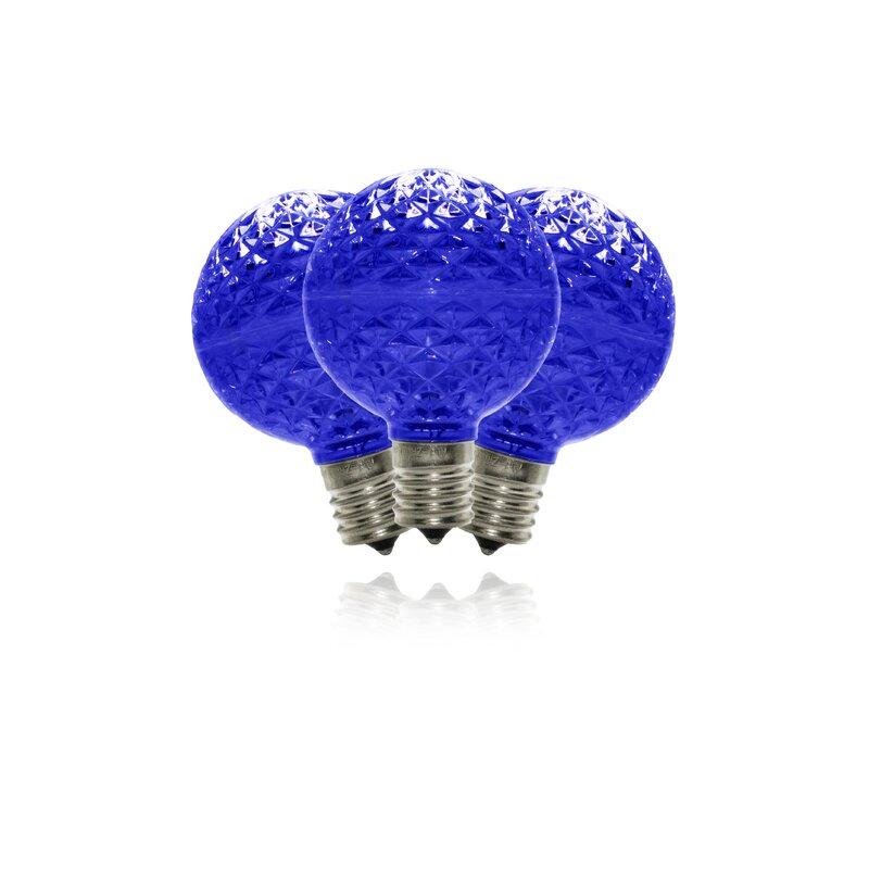 Queens Of Christmas 25 Watt Equivalent G50 Led Dimmable Light Bulb E17 Intermediate Base Wayfair