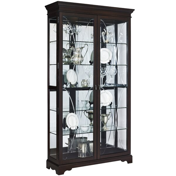 Blakeway Curio Cabinet by Darby Home Co