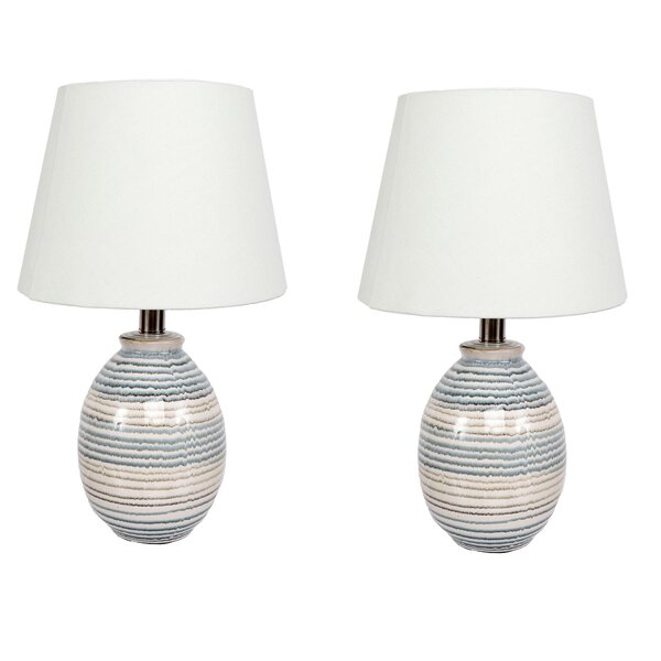 Stripe 16 Table Lamp (Set of 2) by DEI