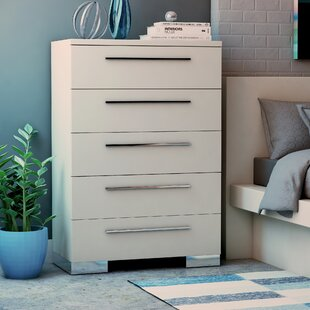 Brendan 5 Drawer Chest By Wade Logan