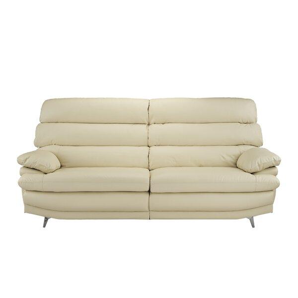 Internet Purchase Marty Leather Sofa by Orren Ellis by Orren Ellis