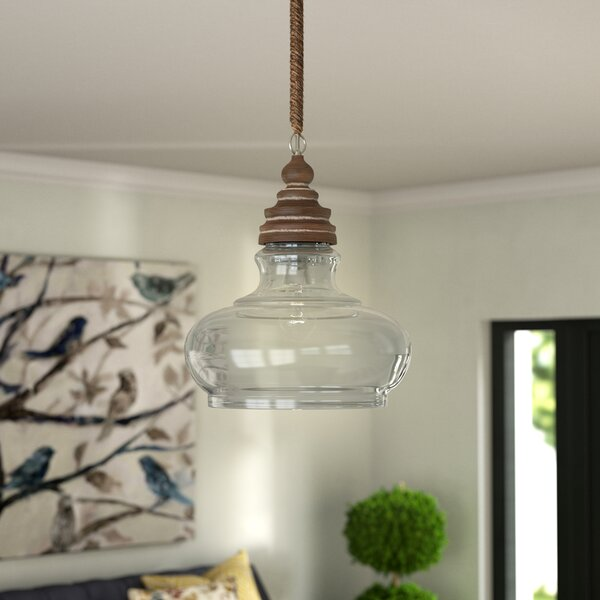 Maelle 1-Light Bell Pendant by Laurel Foundry Modern Farmhouse