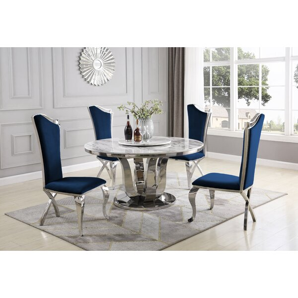 Reynold 6 Piece Dining Set by Everly Quinn Everly Quinn