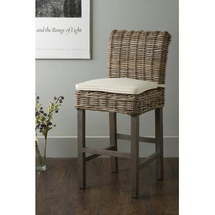 Harlee 18 Patio Bar Stool by Highland Dunes