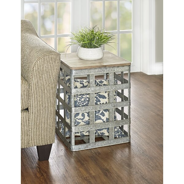 Aldana End Table with Storage by Williston Forge