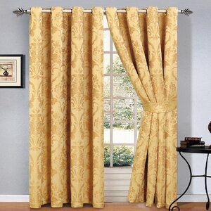 Yellow & Gold Curtains | Wayfair.co.uk