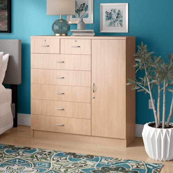 Roselyn 7 Drawer Combo Dresser by Zipcode Design
