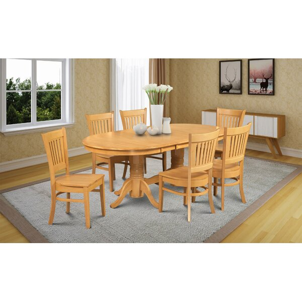 Crigler 7 Piece Dining Set