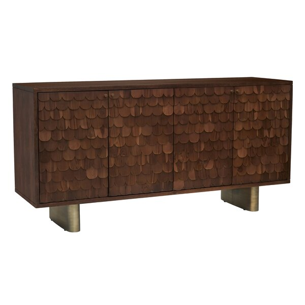 Stanfield 71'' Wide Mango Wood Sideboard by Foundry Select Foundry Select