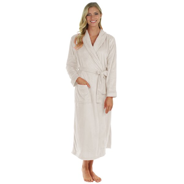 Super Ultra Lux Plush Bathrobe by Easy Living Home