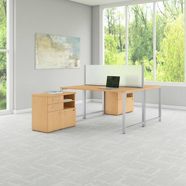 400 Series 5 Piece Desk Office Suite by Bush Business Furniture