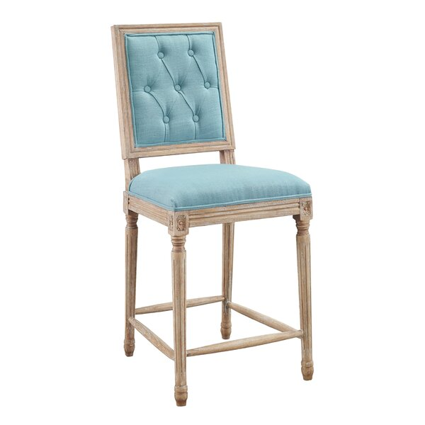 Patillo Tufted 25 Bar Stool by One Allium Way
