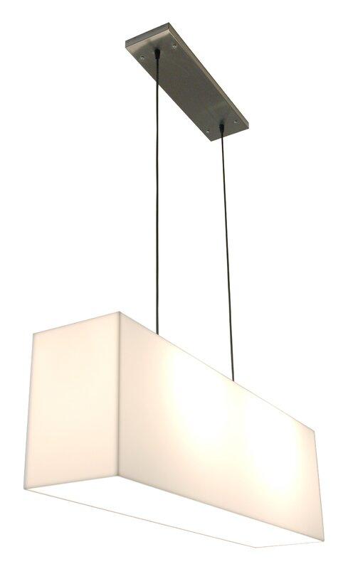 2 Light Kitchen Island Pendant