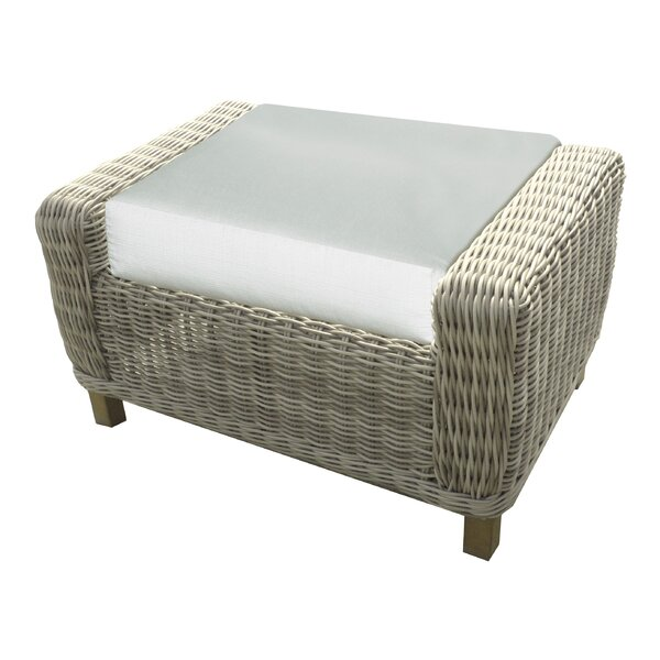 Eaglin Ottoman with Cushion by Highland Dunes