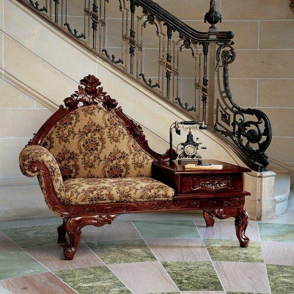 Victorian Storage Bench by Design Toscano