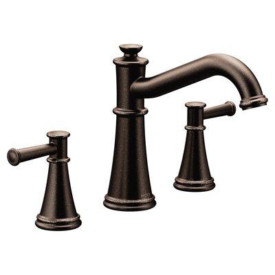 Deck Mount Double Handleed Tub Faucet Trim Oil Rubbed Bronze photo
