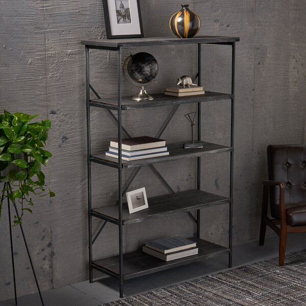 Hillary 4 Shelf Etagere Bookcase By 17 Stories