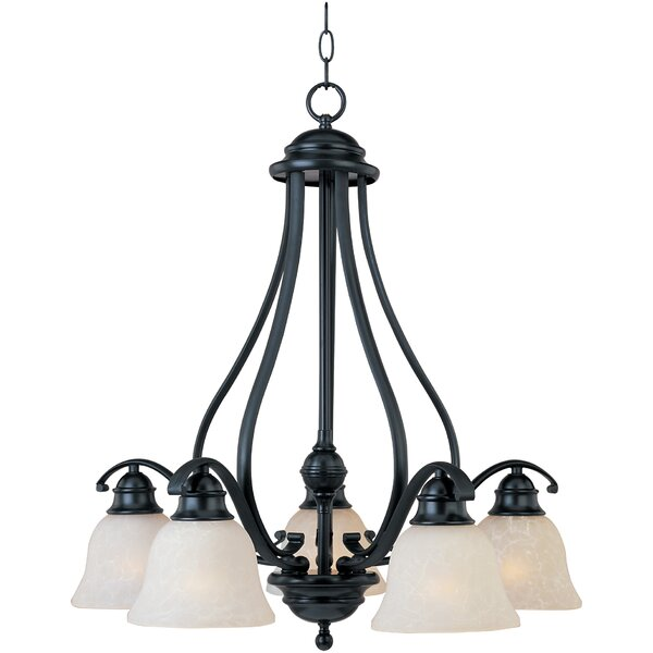 Sparland 5-Light Shaded Classic / Traditional Chandelier By Alcott Hill