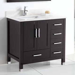 Signature Series 36 Single Bathroom Vanity Set by Belvedere Bath