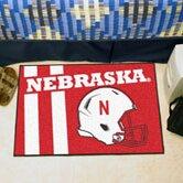 NCAA University of Nebraska Starter Mat by FANMATS