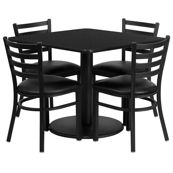 Lomonaco 5 Piece Dining Set by Winston Porter Winston Porter