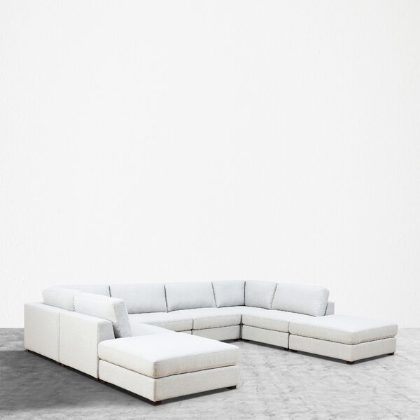 Kendrick Reversible Modular Sectional with Ottoman by Orren Ellis