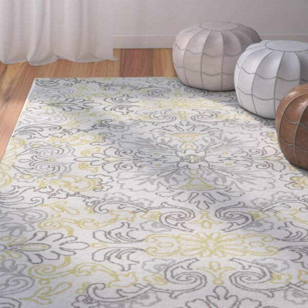 Mera Ivory Area Rug by Bungalow Rose