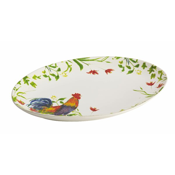 Meadow Rooster Platter by BonJour